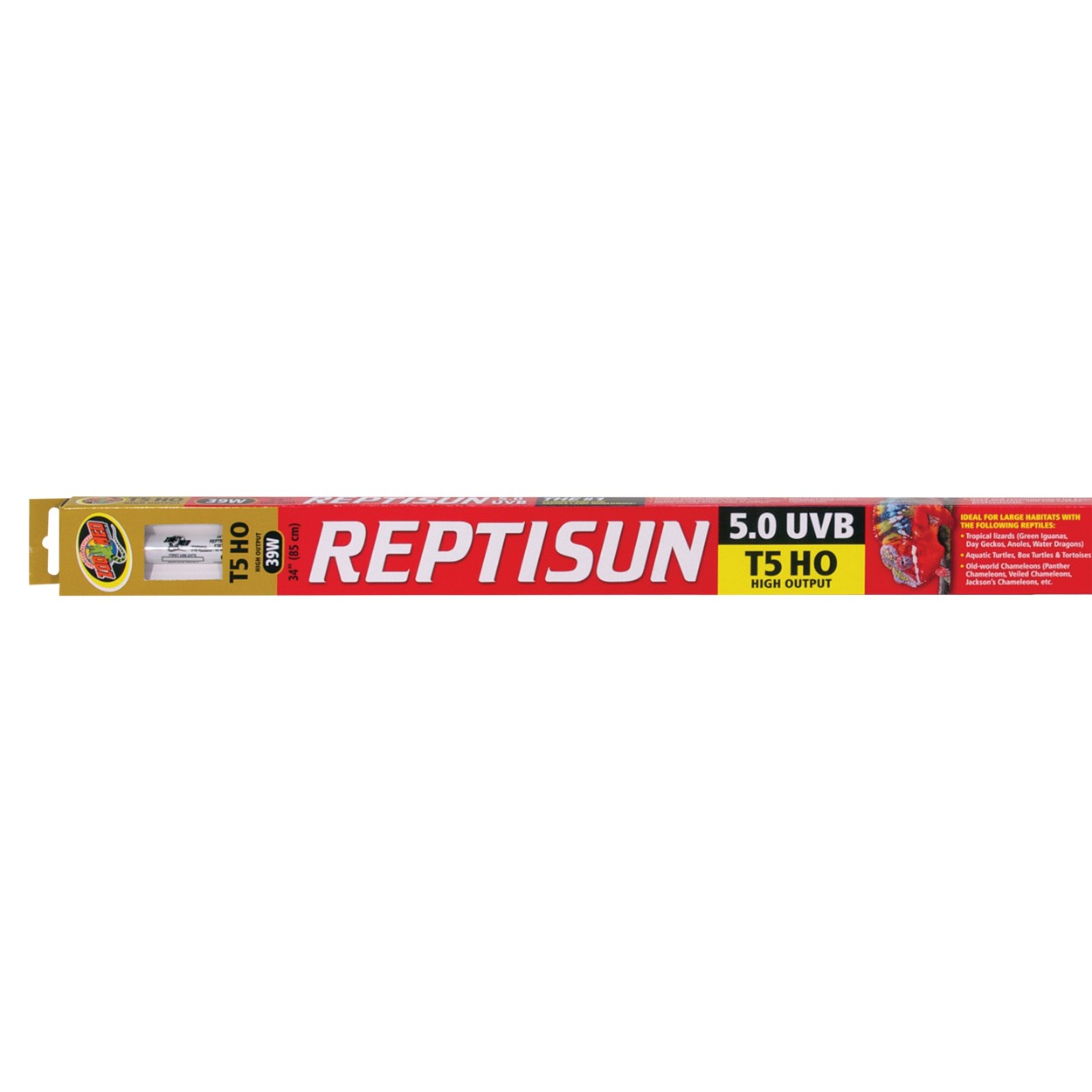 ReptiSun 5.0 T5 High Output UVB Fluorescent Lamp 39W 85cm