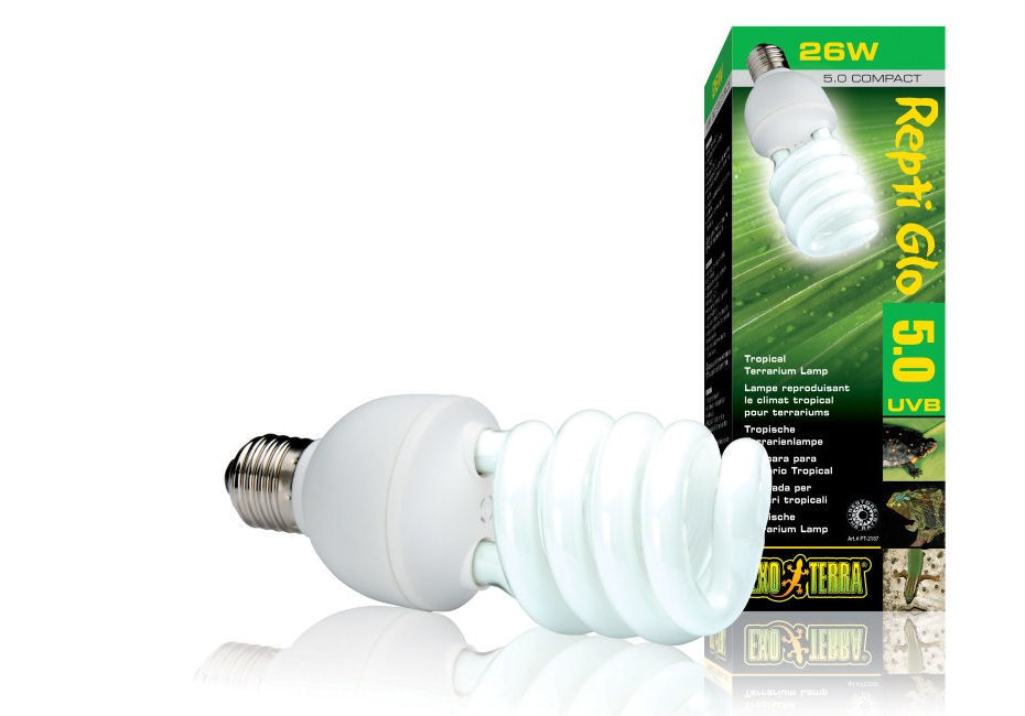 Exo Terra Reptile UVB 100 Compact Lamp 25W