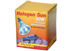 Lucky Reptile Halogen Sun E27 Fitting  50W