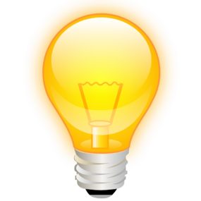 Click here to email us with product or website suggestions Idea Light Bulb