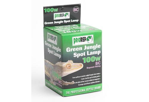 ProRep Green Jungle Spot Lamp 100W BC