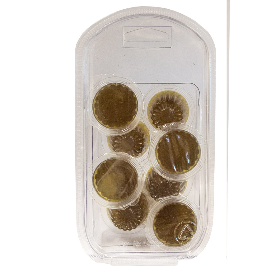 Jelly Pots Black Sugar 8 Pack