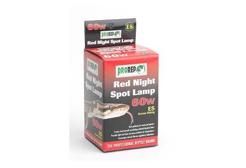 Pro Rep Red Night Spot Lamp  60W ES