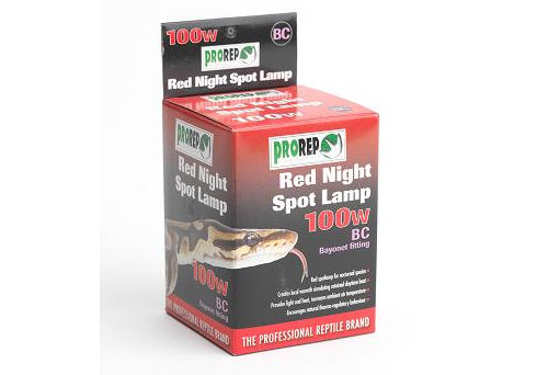 Pro Rep Red Night Spot Lamp 100W BC