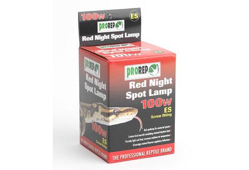 Pro Rep Red Night Spot Lamp 100W ES