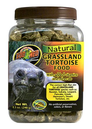 Zoo Med Natural Grassland Tortoise Food  240g