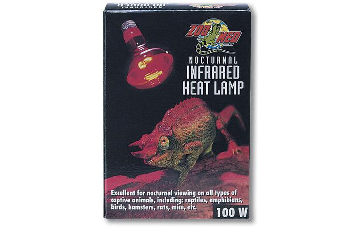 Zoo Med Nocturnal (Red) Infrared Heat Lamp  50W
