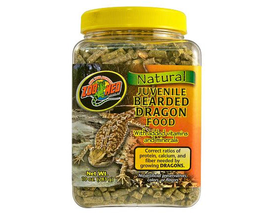Zoo Med Bearded Dragon Food 283g (Juvenile)