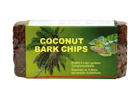 lucky Reptile Coconut Bark Chips (1kg Block)