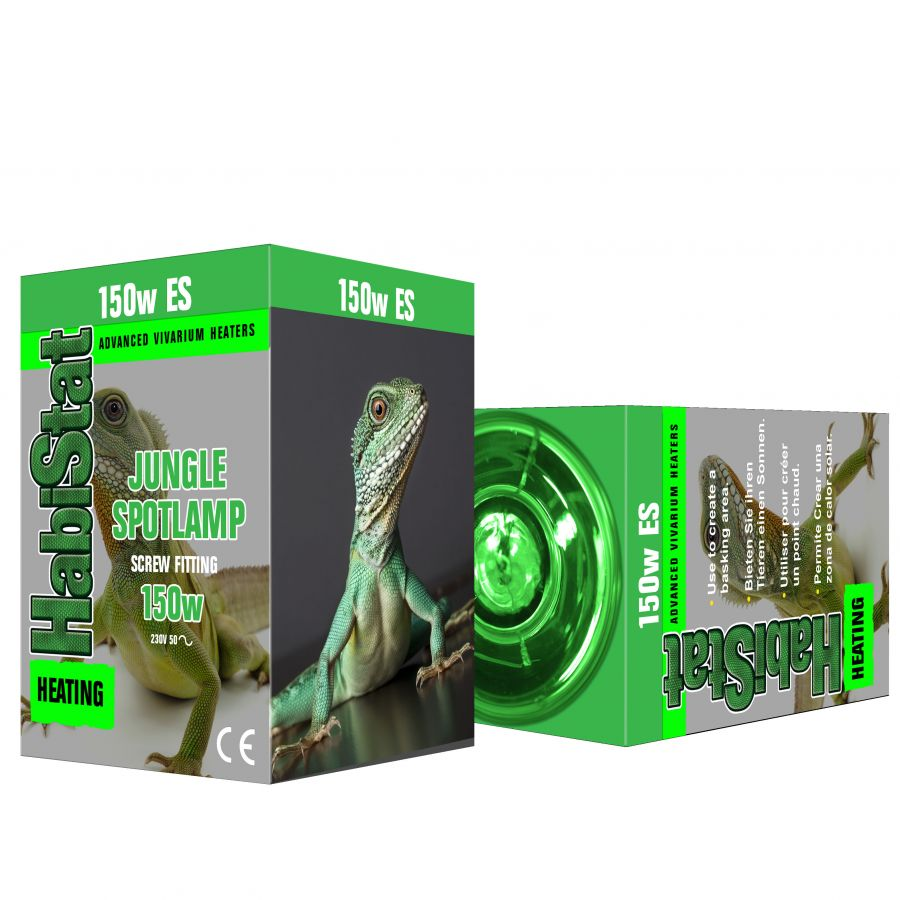 HabiStat Jungle Green Spotlamp  100 watt Screw