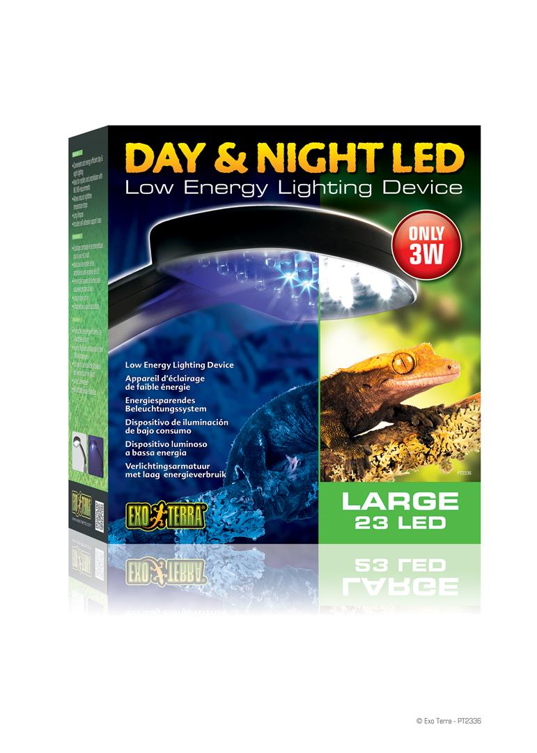 Exo Terra Day & Night LED Fixture Large PT2336