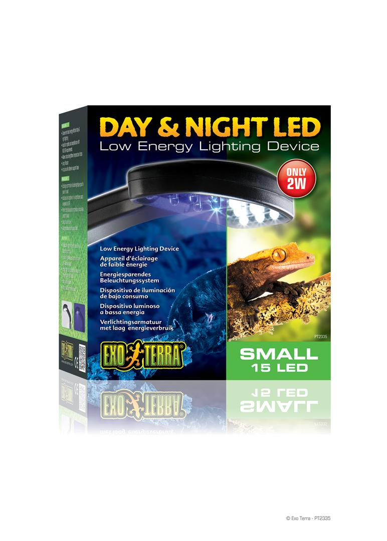Exo Terra Day & Night LED Fixture Small PT2335