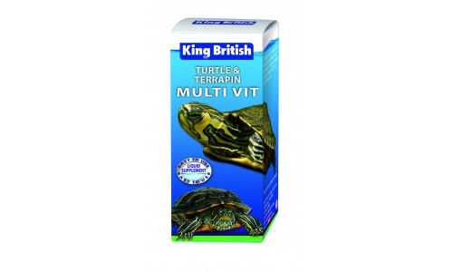 King British Turtle and Terrapin Multi-Vit 20ml