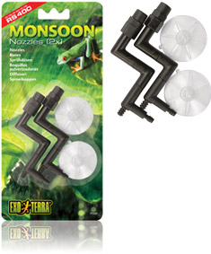 Exo Terra Monsoon Spare Nozzles 2 pack