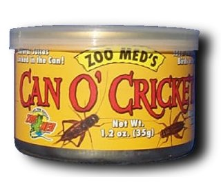 Zoo Med Can O' Crickets (Standard Size)